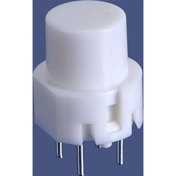 Image of Taiwan Alpha SK12020F01027R-NW3 D6 Round White Keyboard Switch