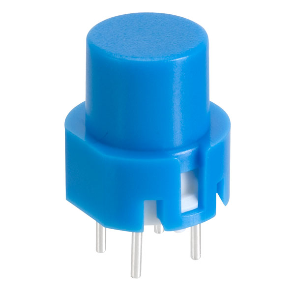 Image of Taiwan Alpha SK1202001027RNL3 D6 Round Blue Keyboard Switch