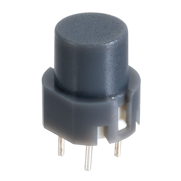 Image of Taiwan Alpha SK1202001027RNA3 D6 Round Grey Keyboard Switch