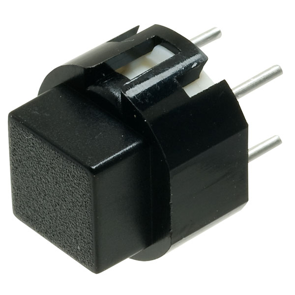 Image of Taiwan Alpha SK1203001024SNB3 D6 Square Black Keyboard Switch