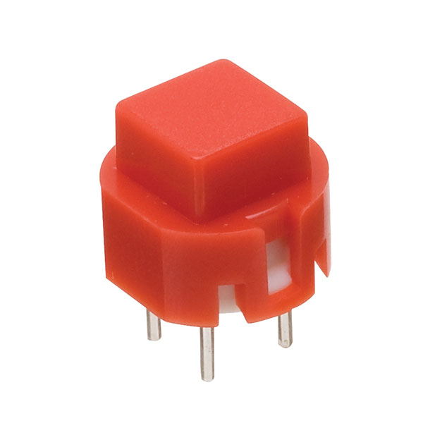 Image of Taiwan Alpha SK1203001024SNR3 D6 Square Red Keyboard Switch