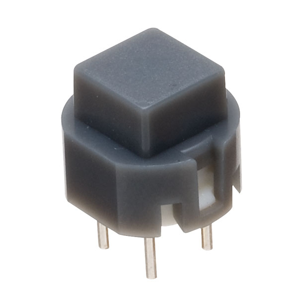 Image of Taiwan Alpha SK1203001024SNA3 D6 Square Grey Keyboard Switch
