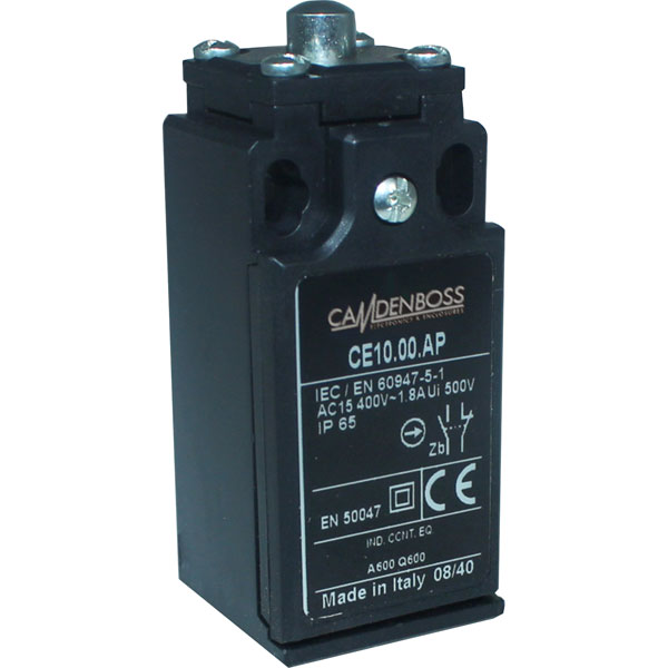 Camden Boss CE10.00.AP Limit Switch 30mm IP65 Plastic Case Plain P...