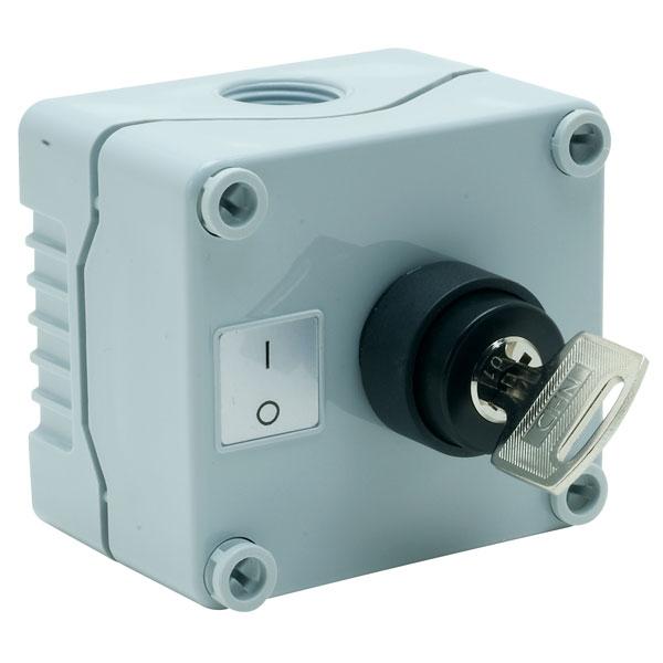 Hylec 1DE.01.09AG IP56 2 Position Selector Switch Station