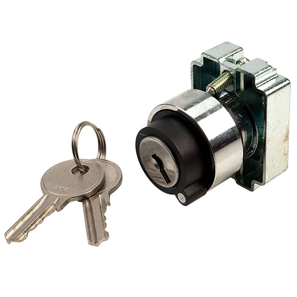 Techna PtecMetK2CRA 2 Position Key Switch