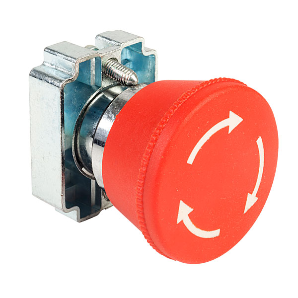 Techna RM2-BS54 Stop Button (Twist to Release)