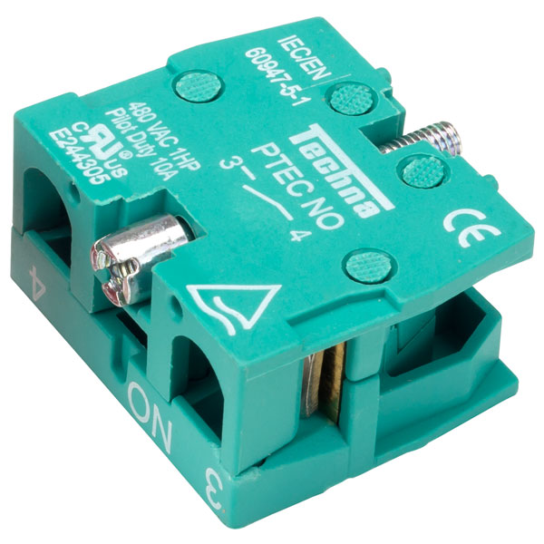 Techna PTECNO Contact Blocks Normally Open