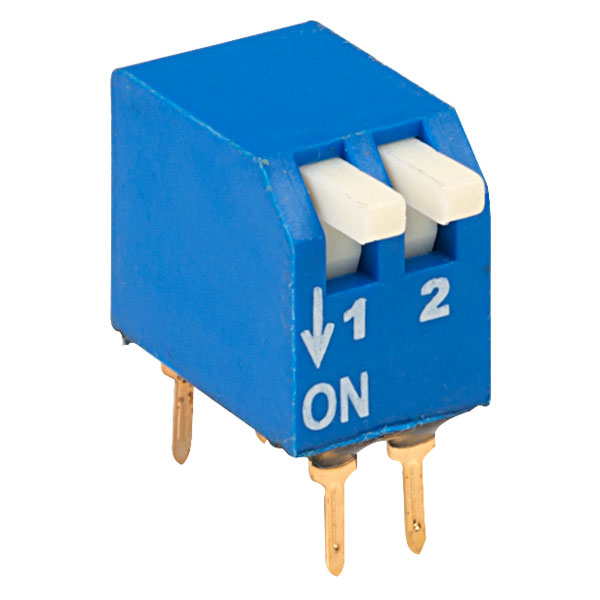 ECE EPG102A 2 Pole 4 Pin Piano DIL Switch