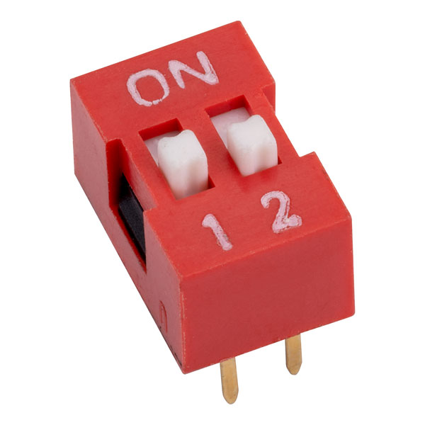 RVFM DS1040-2 RN DIL Switch 2-way 4-pin