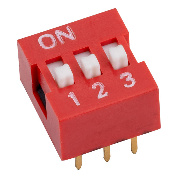 RVFM DS1040-3 RN DIL Switch 3-way 6-pin