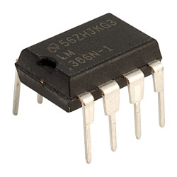 Texas Instruments LM386N-1 Low Voltage Power Amplifier