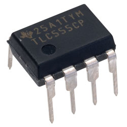 Texas Instruments TLC555CP CMOS Low Power Timer