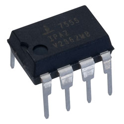 Intersil ICM7555IPA CMOS Low Power Timer