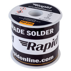 Rapid Solder Wire 60/40 18SWG 1.2mm 2kg Reel