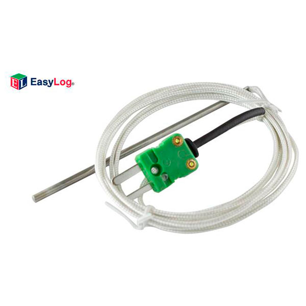 Image of Lascar EL-P-TC-K 1.5m K-Type Thermocouple with Stainless Steel Probe