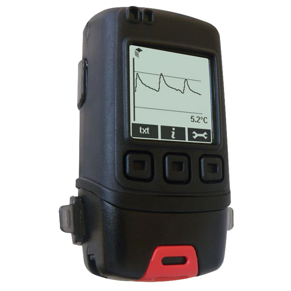 Image of Lascar EL-GFX-1 Temperature Data Logger with Graphic LCD Display