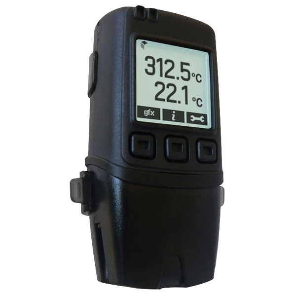 Image of Lascar EL-GFX-DTC 2-Channel Thermocouple Data Logger with Graphic ...