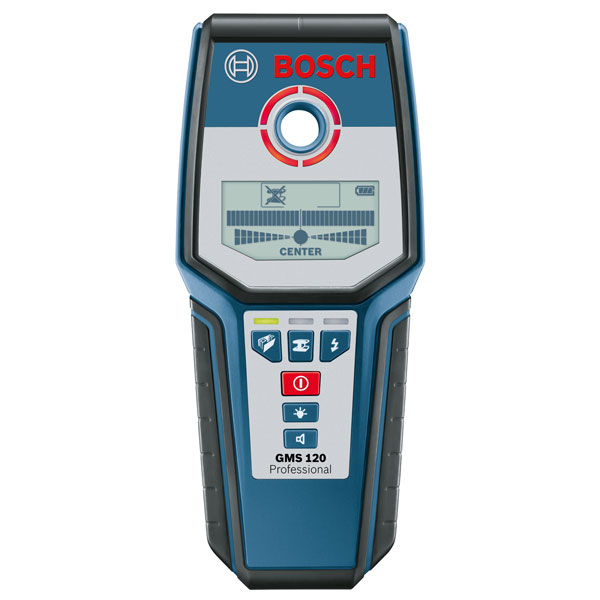 Bosch 0601081000 GMS120 Professional Multi Material Cable Detector