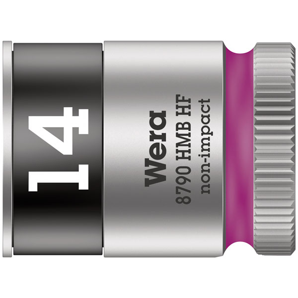 Hex head 1//4 x Length 29mm Wera Zyklop 8790 HMB 3//8 Socket