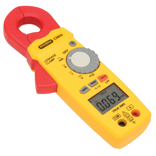 Martindale CM69 AC TRMS Earth Leakage Clamp Meter