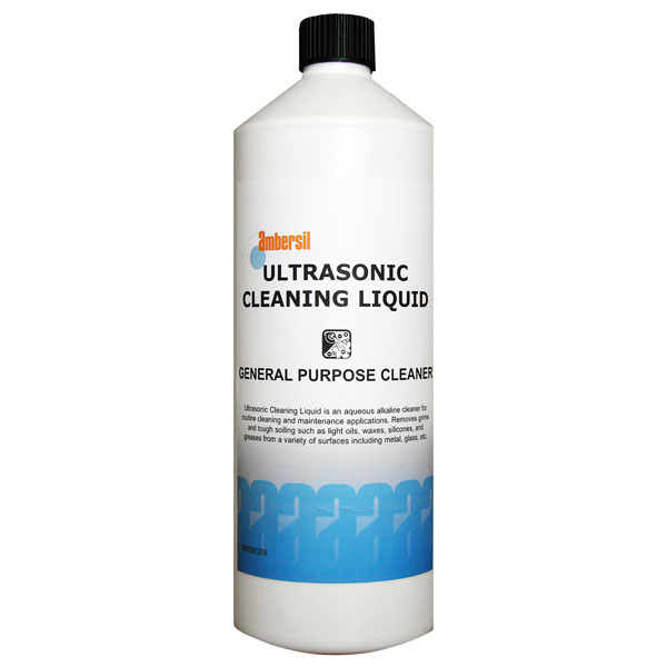 Ambersil 32112-AA Ultrasonic Cleaning Liquid 1 Litre