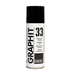 Kontakt-Chemie 207606091242 Graphit 33 Spray 200ml