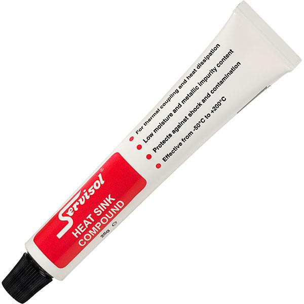 Servisol Heatsink Compound Paste 6200001000 25gm