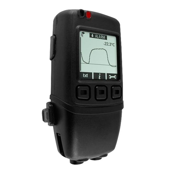 Image of Lascar EL-GFX-DTP Dual Chl Temp Probe Data Logger with Graphic Scr...