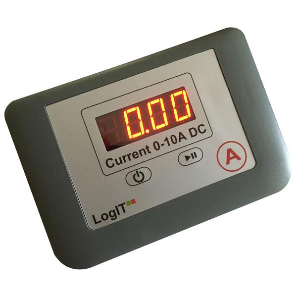 Image of LogIT D106000 LogIT LED Ammeter Single