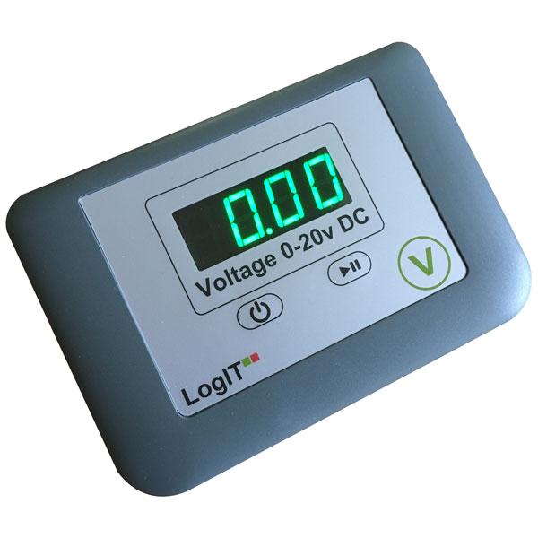 Image of LogIT D106100 LogIT LED Voltmeter Single