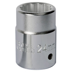 Sealey S34//33 WallDrive/® Socket 33mm 3//4Sq Drive