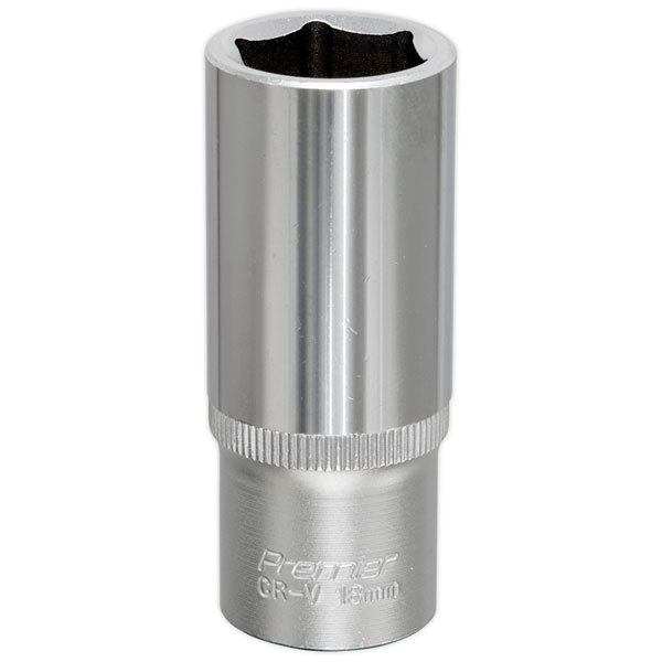 "Sealey S3818 WallDrive Socket 18mm 3//8/""Sq Drive"