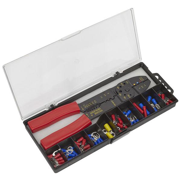 Siegen S0536 Crimping Tool Set