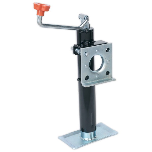 Sealey TB373 Trailer Jack with Weld-On Swivel Mount 250mm Travel - 900kg Capacity