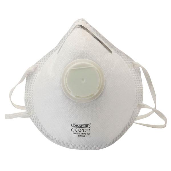 Draper Dust Respirator 3 Particulate Masks 82482 Ffp2
