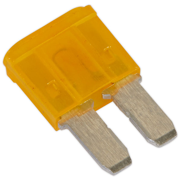 Image of Sealey M2BF5 Automotive MICRO II Blade Fuse 5A - Pack of 50