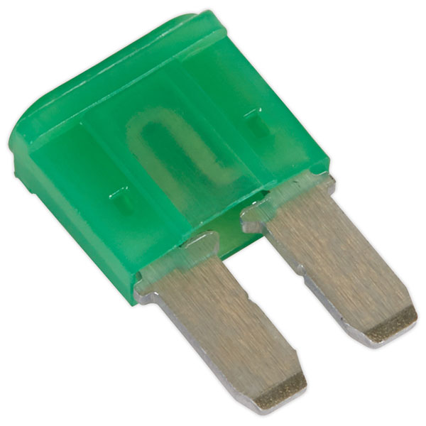 Image of Sealey M2BF30 Automotive MICRO II Blade Fuse 30A - Pack of 50
