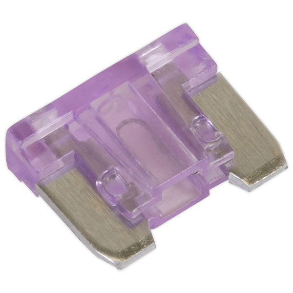 Image of Sealey MIBF3 Automotive MICRO Blade Fuse 3A - Pack of 50