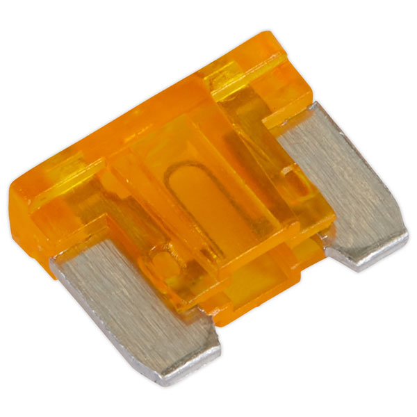 Image of Sealey MIBF5 Automotive MICRO Blade Fuse 5A - Pack of 50