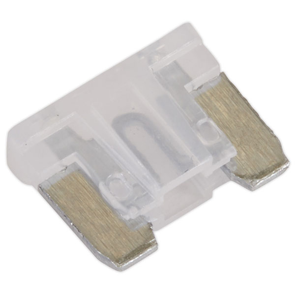 Image of Sealey MIBF25 Automotive MICRO Blade Fuse 25A - Pack of 50