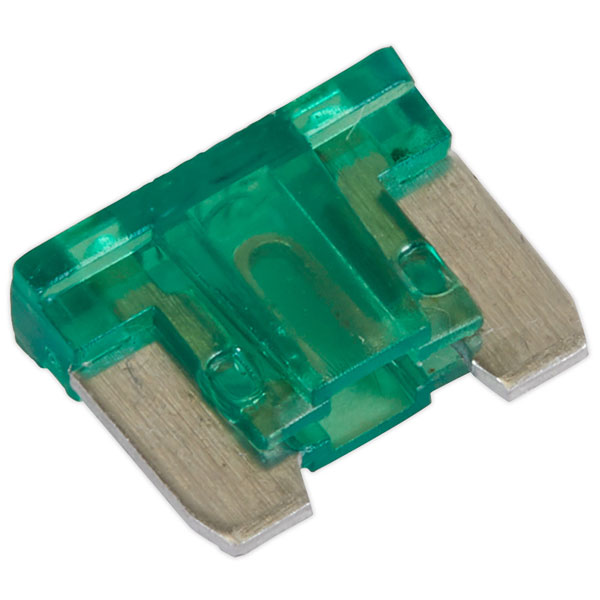 Image of Sealey MIBF30 Automotive MICRO Blade Fuse 30A - Pack of 50