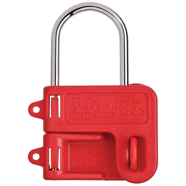 Master Lock S430 Two Padlock Lockout Hasp - 4mm Shackle