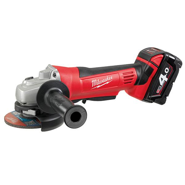 Power Tools Milwaukee 4933441303 HD18 AG-402 Angle Grinder 115mm 18V 2 x 4.0Ah...