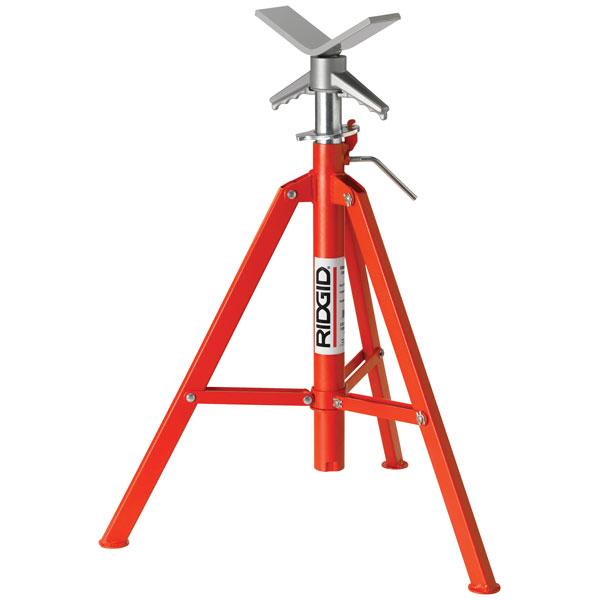 RIDGID 22168 VF-99 V-Head Folding Pipe Stand 22168