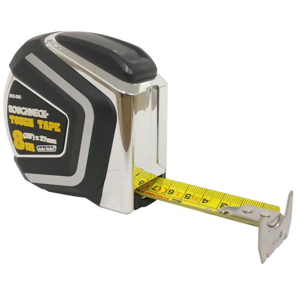 Roughneck 43-308 Self Locking Tough Tape 8m/26ft (Width 27mm)