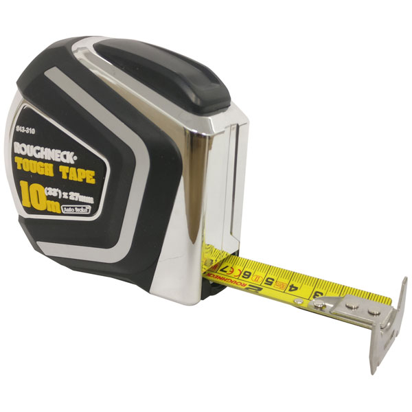 Roughneck 43-310 Self Locking Tough Tape 10m/33ft (Width 27mm)