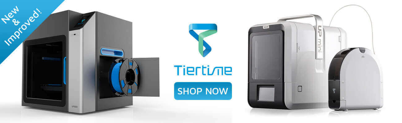 New & Improved Tiertime printers