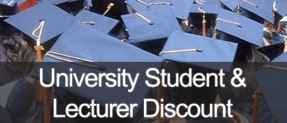 Student and Lecturer University Discount