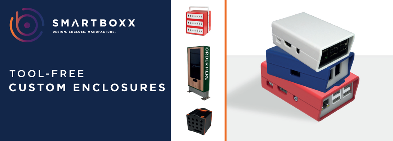 Smartboxx Tool-free custom enclosures