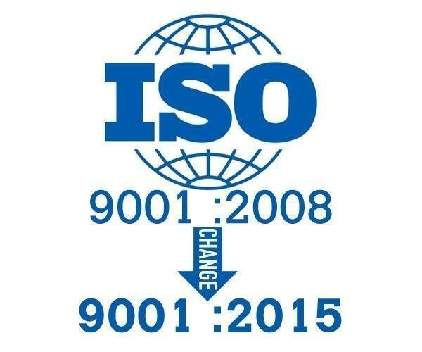BSI ISO9001:2015 certification